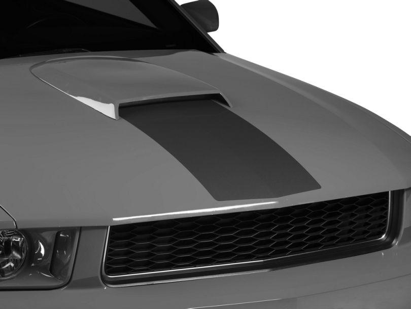 American Muscle Graphics Matte Black Hood Stripe (05-09 GT, V6)