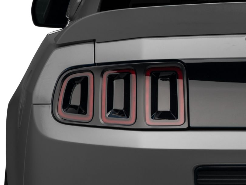 American Muscle Graphics Smoked Tail Light Tint Insert (13-14 All)
