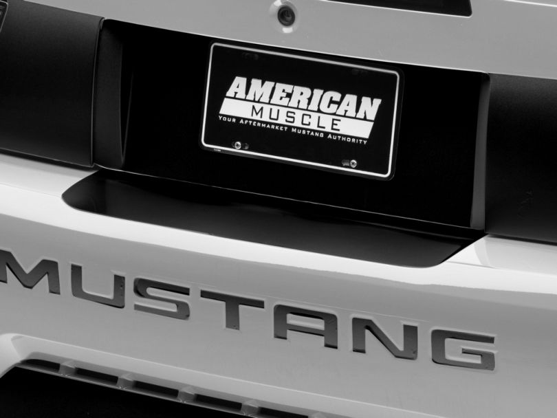 American Muscle Graphics Gloss Black Rear Bumper Accent (99-04 All)