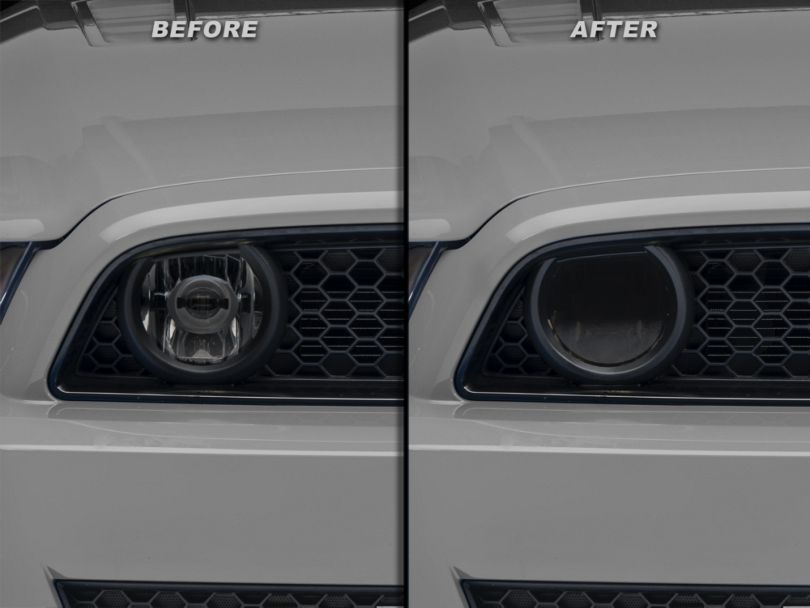 American Muscle Graphics Fog Light Tint; Smoked (13-14 GT)