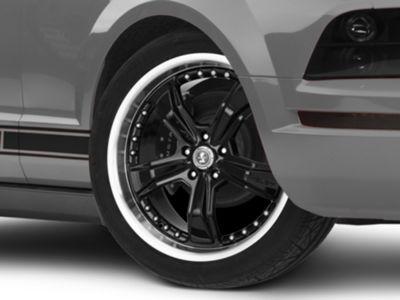 Shelby Razor Black Wheel - 20x9 (05-14 All, Excluding 13-14 GT500)