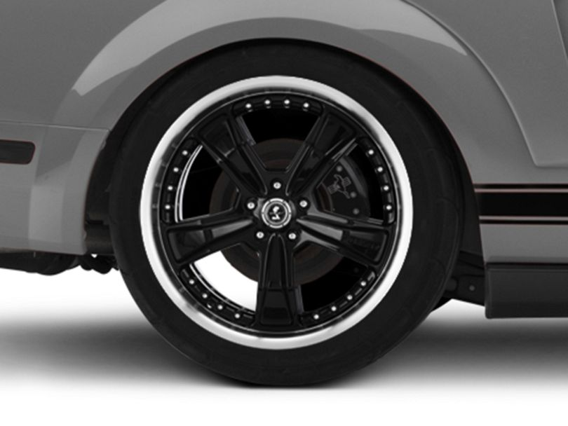 Shelby Razor Black Wheel - 20x10 - Rear Only (05-09 All)
