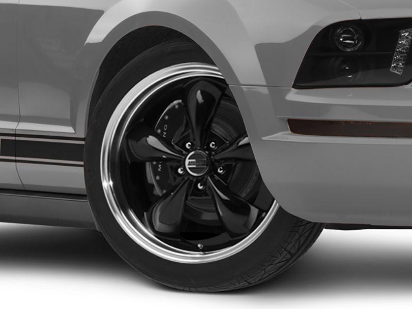 Deep Dish Bullitt Black Wheel - 20x8.5 (05-09 GT, V6)
