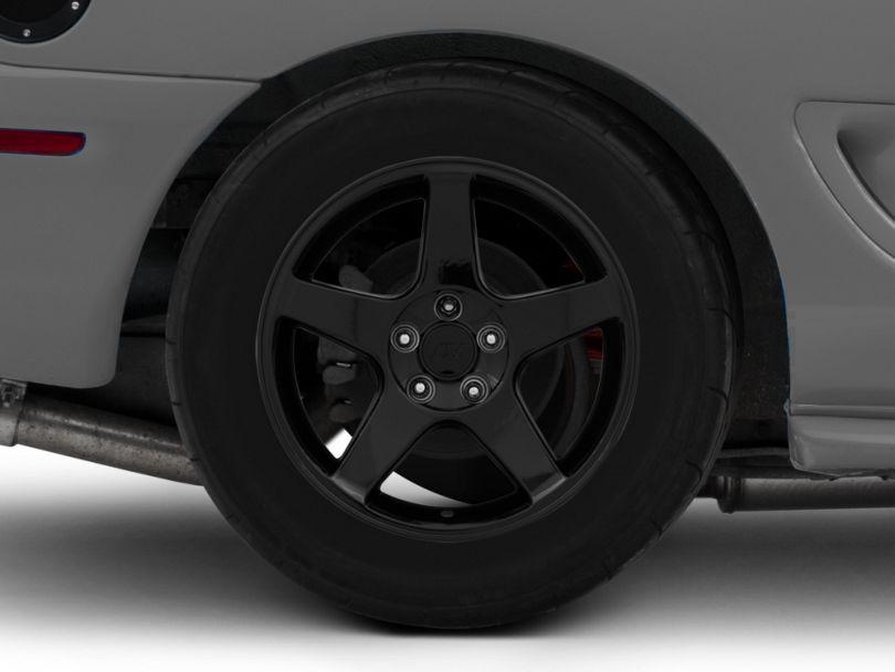 2003 Cobra Style Black Wheel - 17x10.5 - Rear Only (94-98 All)