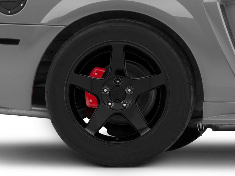 2003 Cobra Style Black Wheel; Rear Only; 17x10.5 (99-04 All)