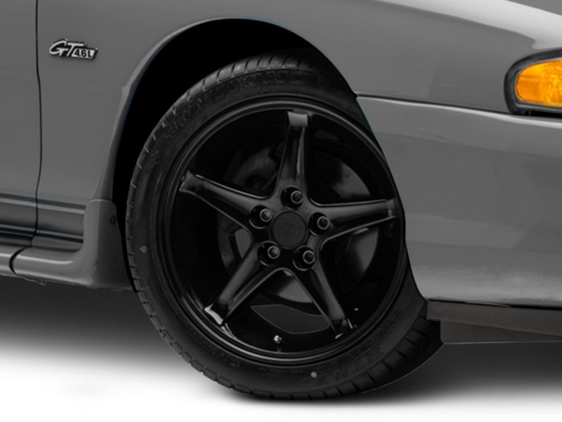 1995 Cobra R Style Black Wheel - 17x9 (94-98 All)