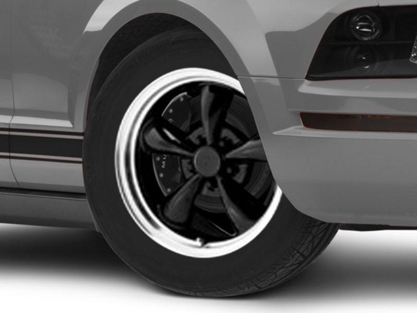 Bullitt Black Wheel; 17x9 (05-09 GT, V6)