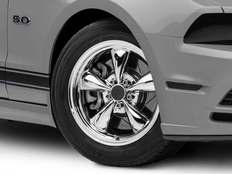 Bullitt Chrome Wheel; 17x9 (2010 GT; 10-14 V6)