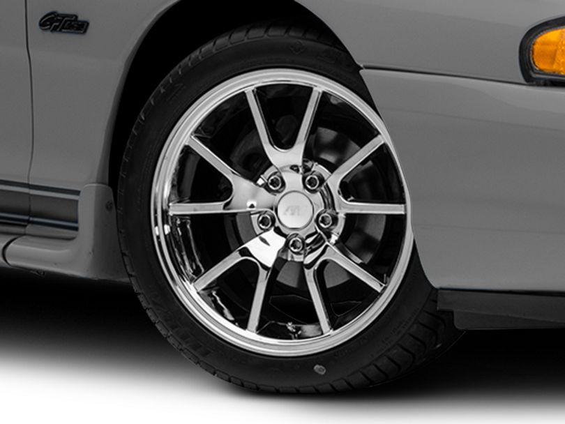 FR500 Style Chrome Wheel - 17x9 (94-98 All)