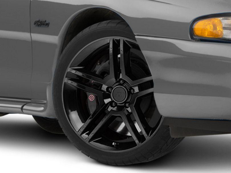 2010 GT500 Style Black Wheel - 19x8.5 (94-98 All)