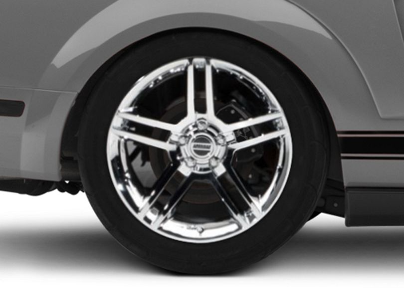 2010 GT500 Style Chrome Wheel - 19x8.5 (05-09 All)