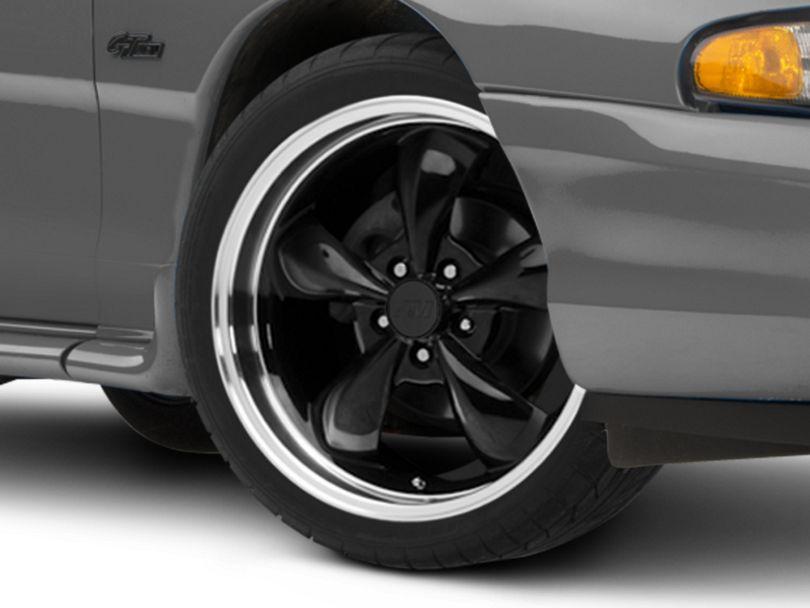 Deep Dish Bullitt Black Wheel - 19x8.5 (94-98 All)
