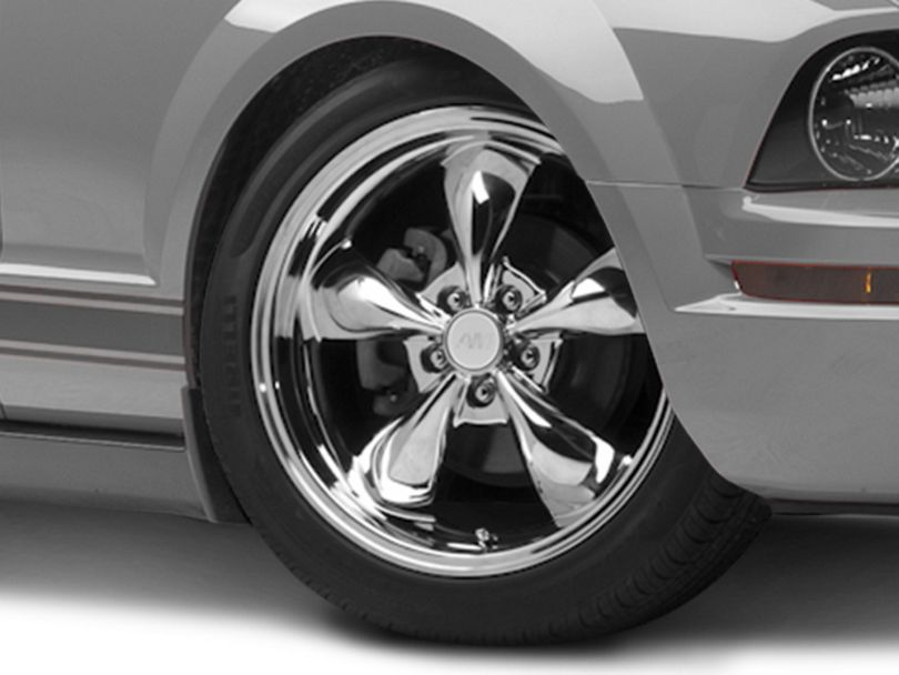 Deep Dish Bullitt Chrome Wheel - 19x8.5 (05-09 GT, V6)
