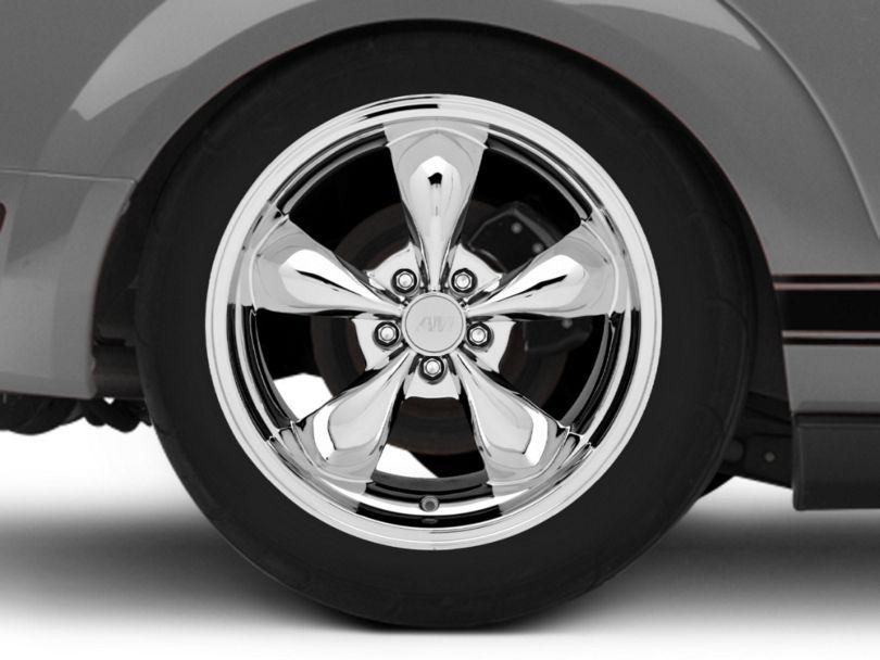 Deep Dish Bullitt Chrome Wheel - 19x10 - Rear Only (05-09 GT, V6)