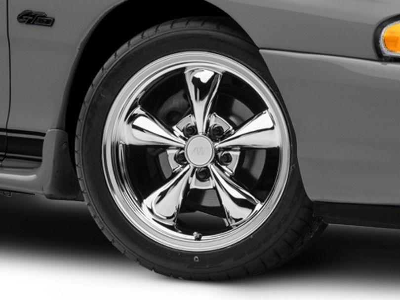 Bullitt Chrome Wheel - 17x9 (94-98 All)