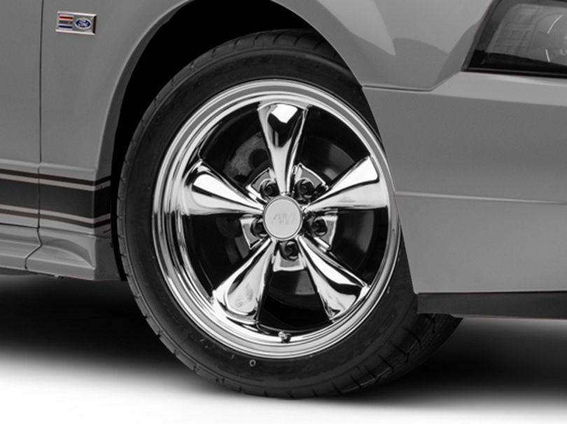 Bullitt Chrome Wheel; 17x8 (99-04 All)