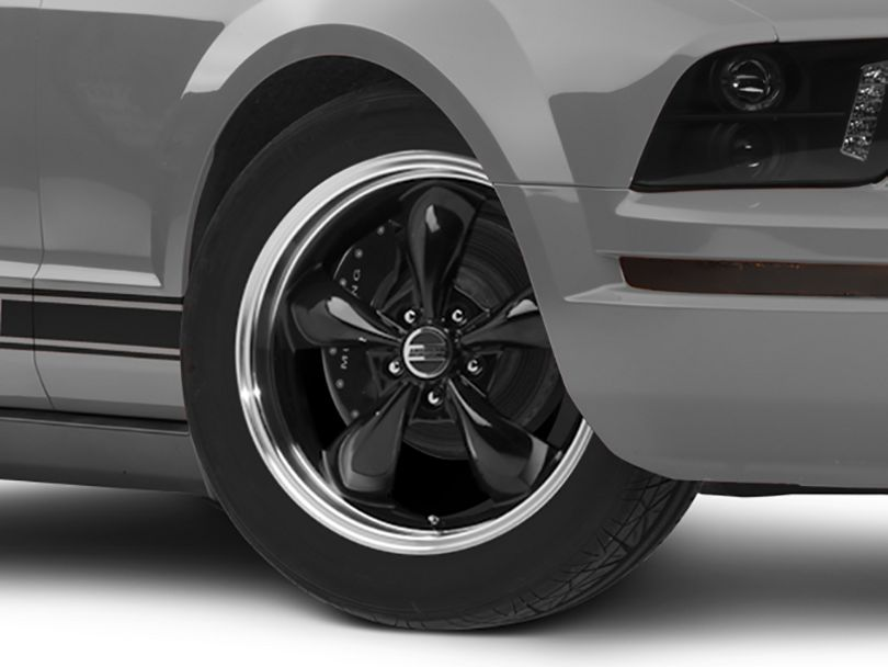 Deep Dish Bullitt Black Wheel - 18x9 (05-09 GT, V6)