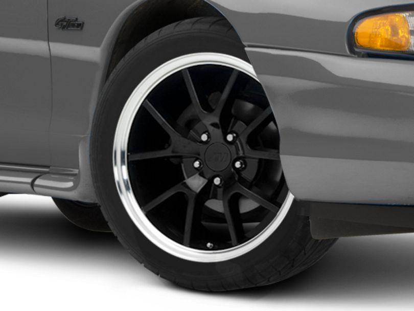 FR500 Style Black Wheel; 18x9 (94-98 All)