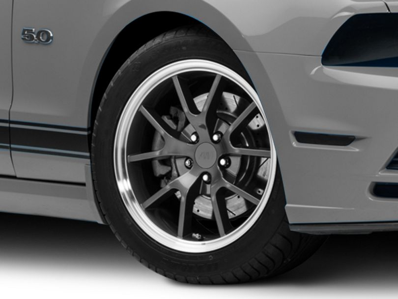 FR500 Style Anthracite Wheel; 18x9 (10-14 All, Excluding 13-14 GT500)