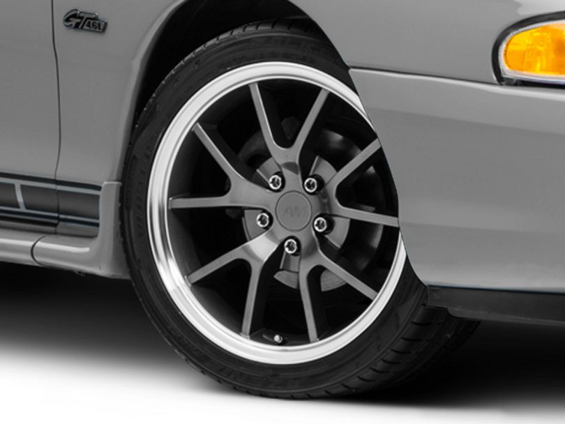 FR500 Style Anthracite Wheel - 18x9 (94-98 All)