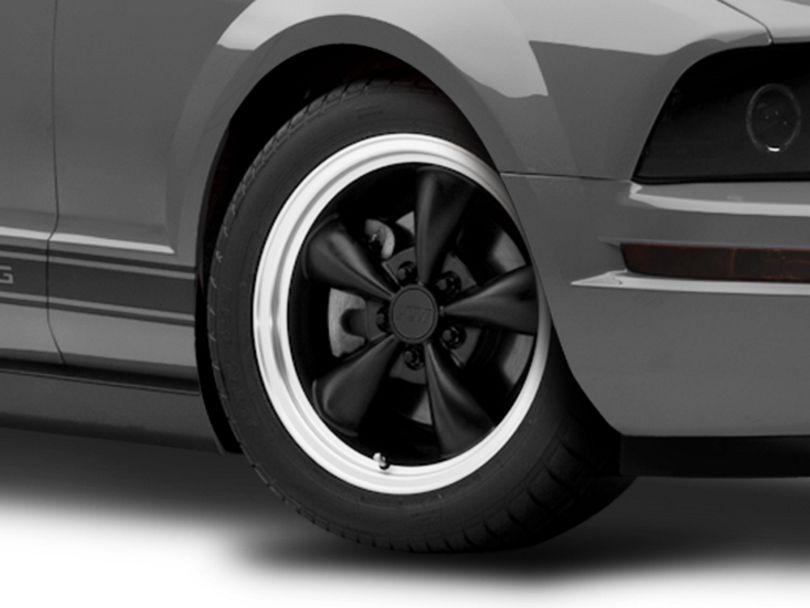 Bullitt Matte Black Wheel - 17x9 (05-09 GT, V6)