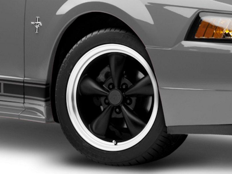 Bullitt Matte Black Wheel; 17x9 (99-04 All)