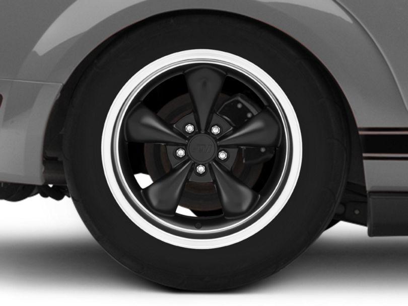 Bullitt Deep Dish Matte Black Wheel - 18x9 (05-09 GT, V6)
