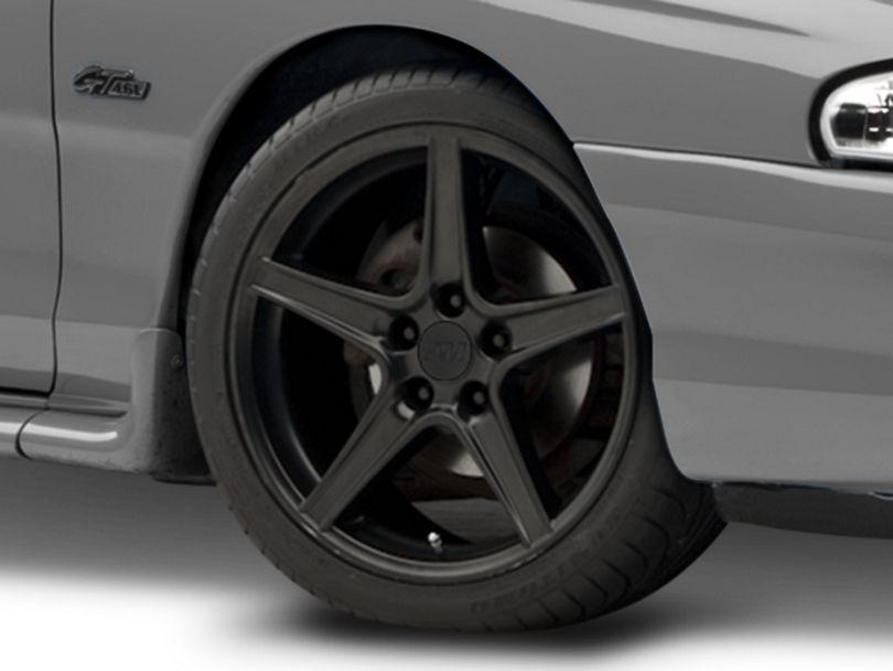 Saleen Style Matte Black Wheel - 18x9 (94-98 All)