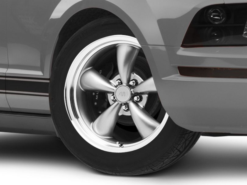 Bullitt Anthracite Wheel - 18x8 (05-09 GT, V6)