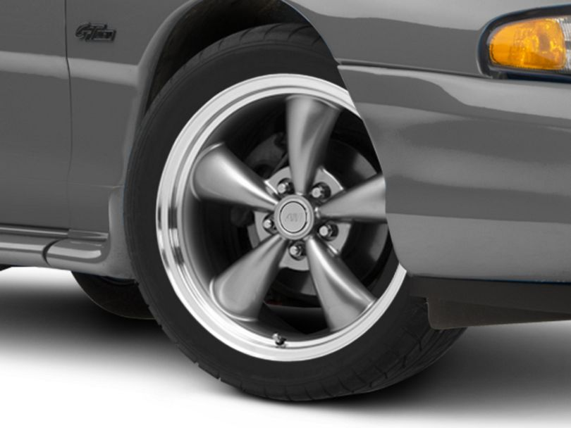 Bullitt Anthracite Wheel - 18x8 (94-98 All)