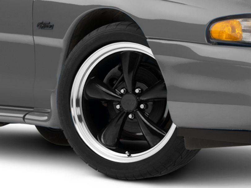 Bullitt Black Wheel - 18x8 (94-98 All)