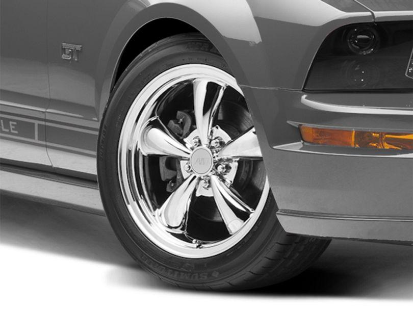 Bullitt Chrome Wheel - 18x8 (05-09 GT, V6)