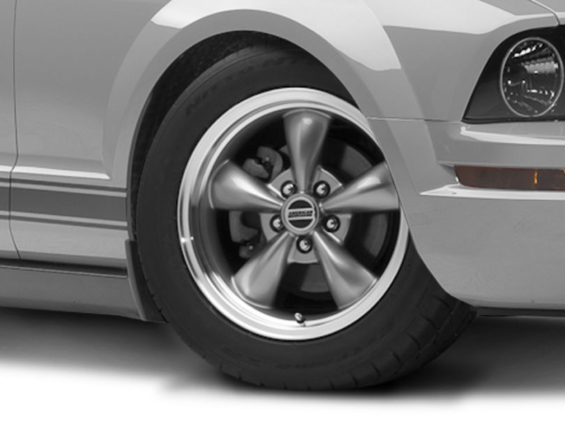 Bullitt Anthracite Wheel; 17x8 (05-09 GT, V6)