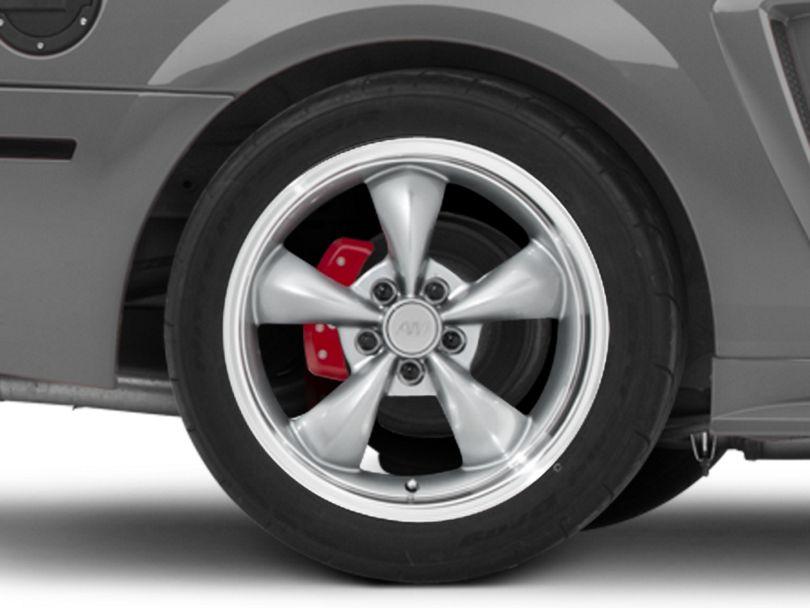 Deep Dish Bullitt Anthracite Wheel; Rear Only; 18x10 (99-04 All)