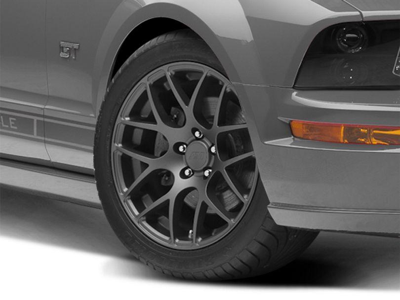 AMR Charcoal Wheel; 18x9 (05-09 All)