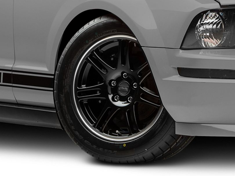 10th Anniversary Cobra Style Black Wheel - 17x9 (05-09 GT, V6)