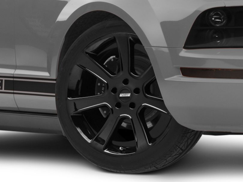 S197 Saleen Style Black Wheel - 20x9 (05-09 All)