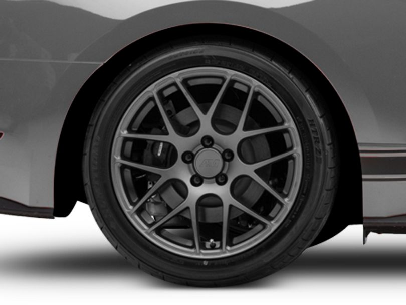 AMR Charcoal Wheel - 19x10 - Rear Only (15-20 GT, EcoBoost, V6)