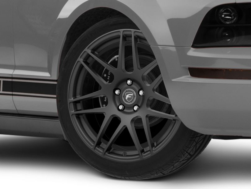 Forgestar F14 Monoblock Matte Black Wheel; 19x9 (05-09 All)