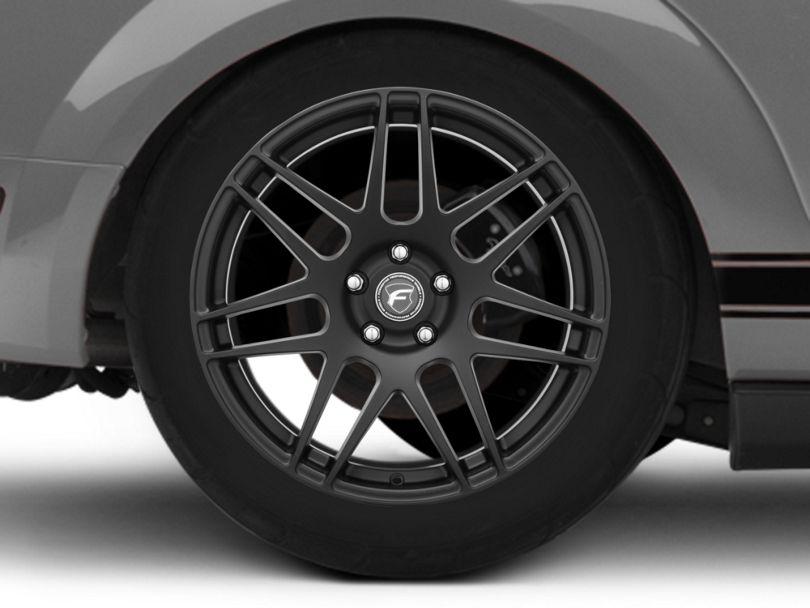 Forgestar F14 Monoblock Matte Black Wheel - 19x10 - Rear Only (05-09 All)