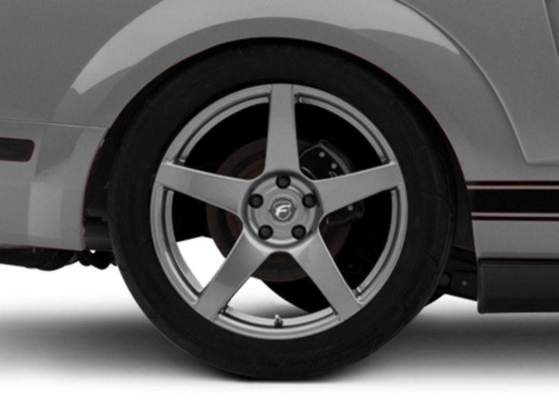 Forgestar CF5 Monoblock Gunmetal Wheel - 19x10 - Rear Only (05-09 All)
