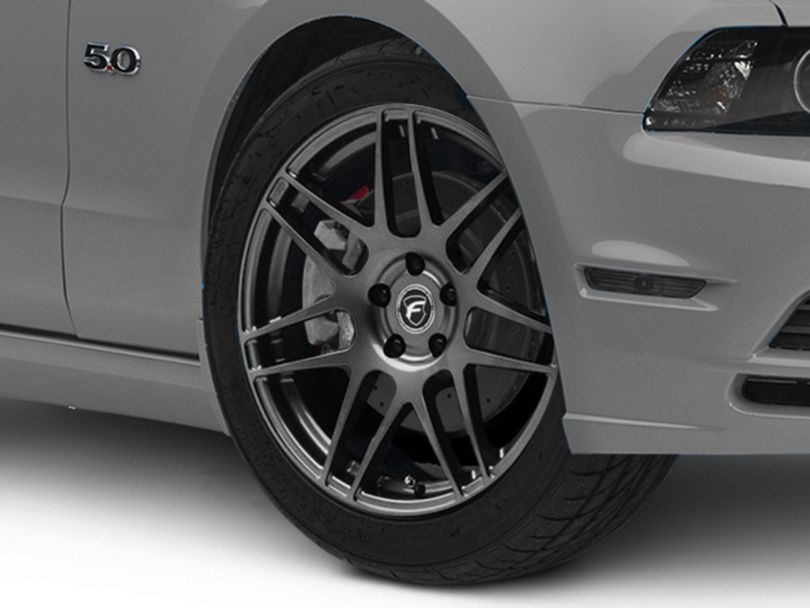 Forgestar F14 Monoblock Gunmetal Wheel; 19x9.5 (10-14 All)