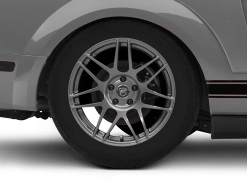 Forgestar F14 Monoblock Gunmetal Wheel - 18x10 - Rear Only (05-09 All)