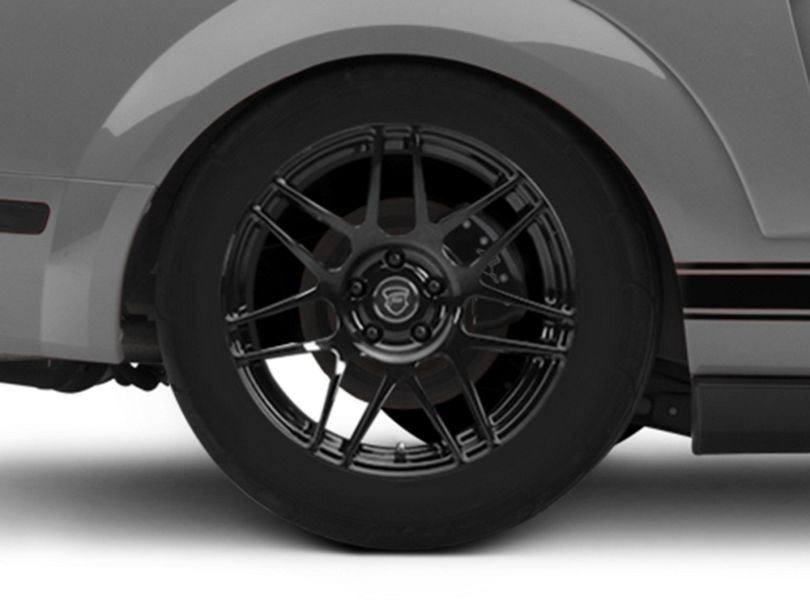 Forgestar F14 Monoblock Piano Black Wheel - 18x9 (05-09 All)