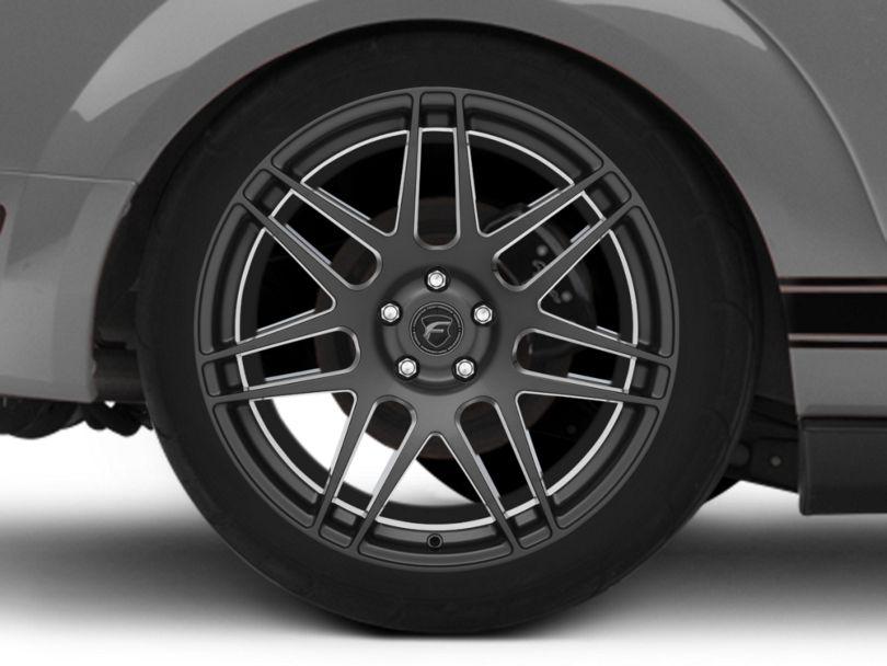 Forgestar F14 Monoblock Deep Concave Gunmetal Wheel; Rear Only; 20x11 (05-09 All)