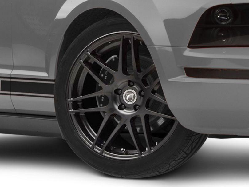 Forgestar F14 Monoblock Matte Black Wheel; 20x9.5 (05-09 All)