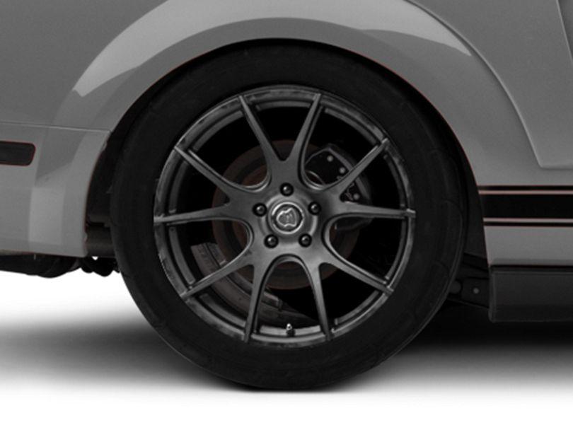 Forgestar CF5V Monoblock Matte Black Wheel - 19x10 - Rear Only (05-09 All)