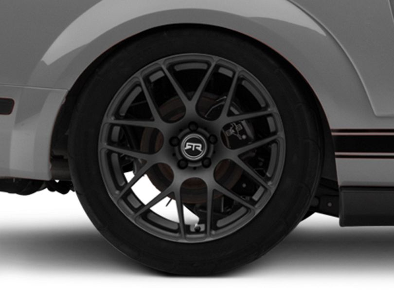 RTR Charcoal Wheel; Rear Only; 19x10 (05-09 All)
