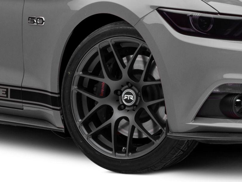 RTR Charcoal Wheel - 20x9 (15-20 GT, EcoBoost, V6)