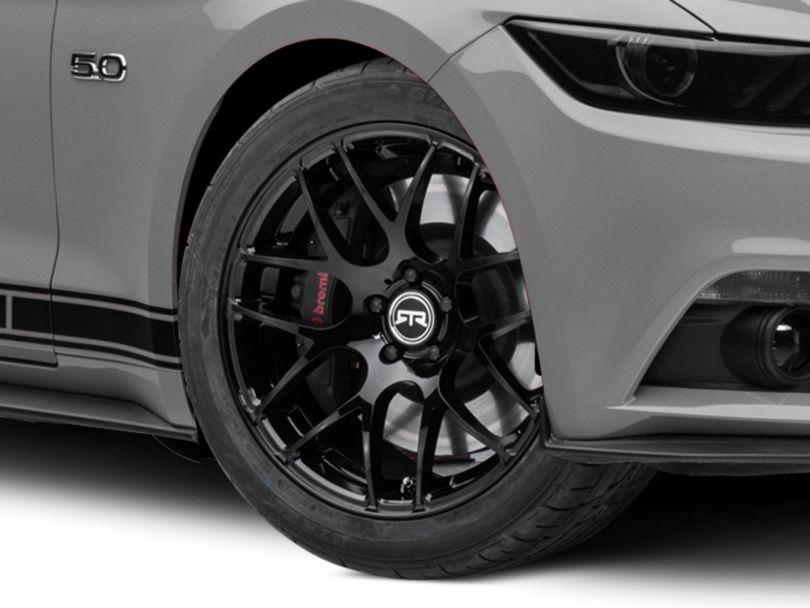 RTR Black Wheel - 19x9.5 (15-20 GT, EcoBoost, V6)